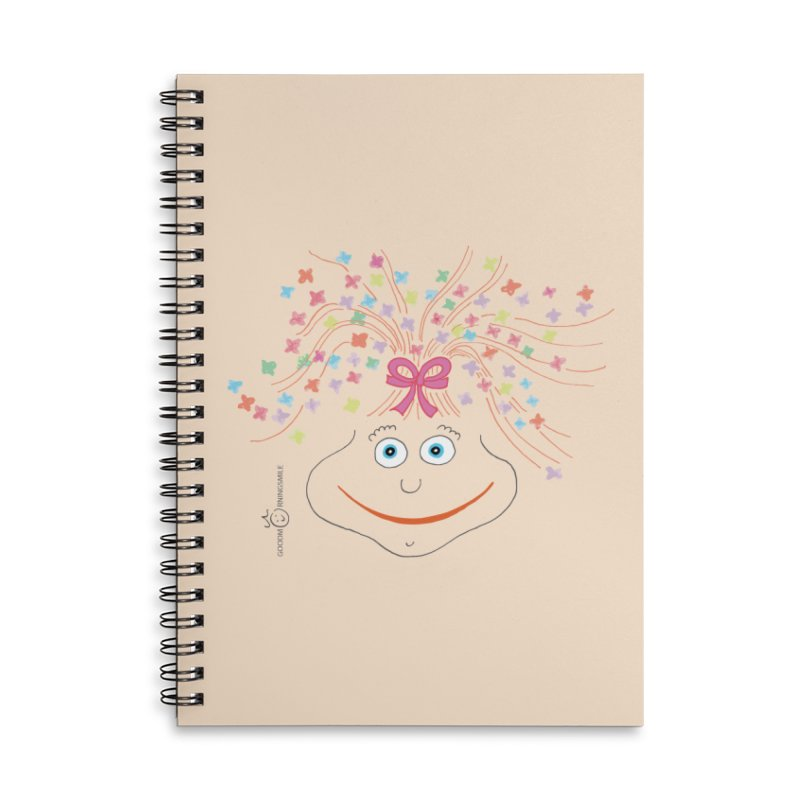 Happy Birthday Smile Accessories Lined Spiral Notebook by Good Morning Smile