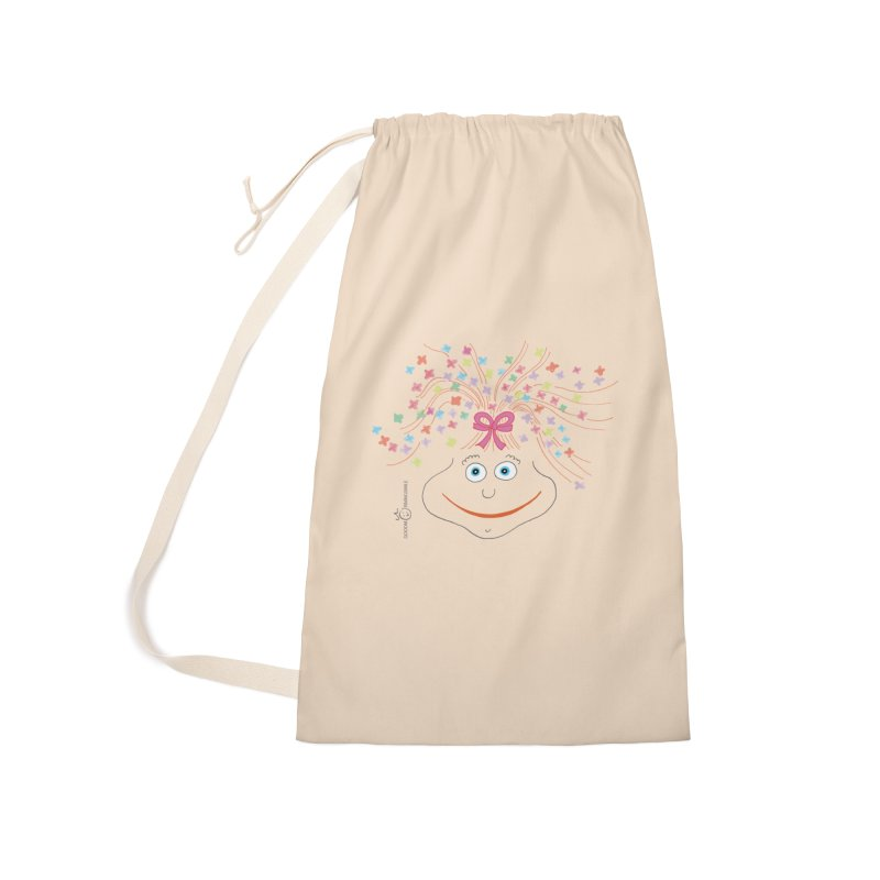 Happy Birthday Smile Accessories Laundry Bag Bag by Good Morning Smile