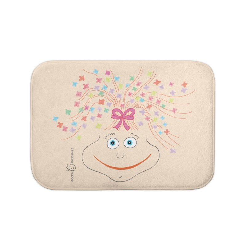 Happy Birthday Smile Home Bath Mat by Good Morning Smile