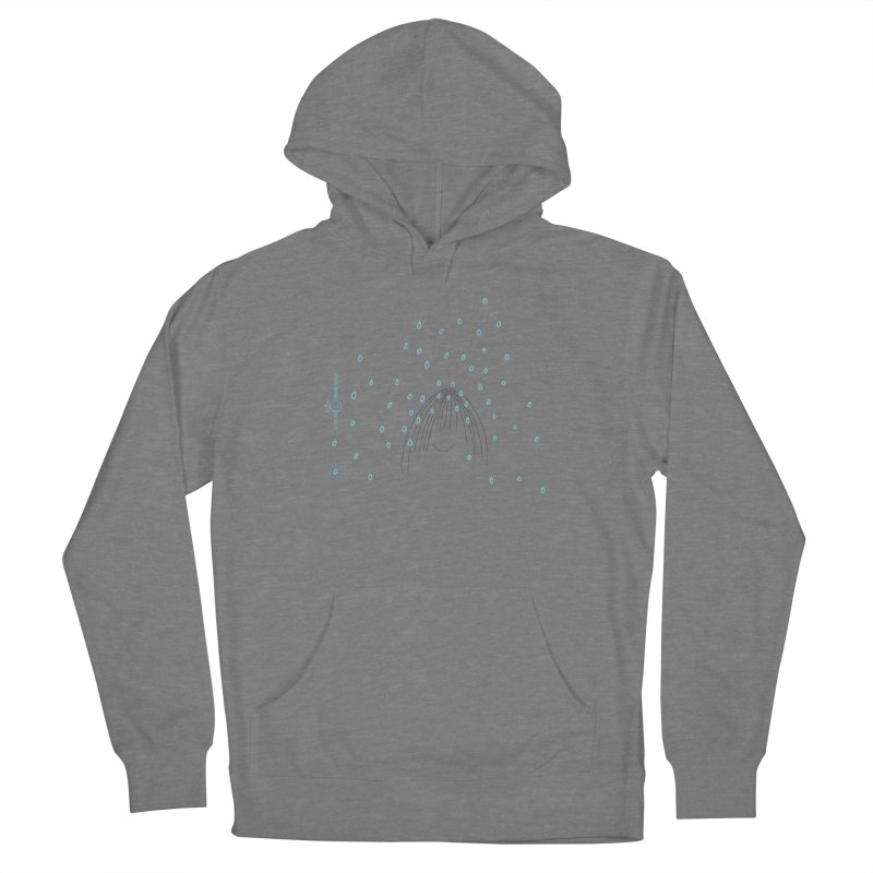 Rainy smile Women's French Terry Pullover Hoody by Good Morning Smile