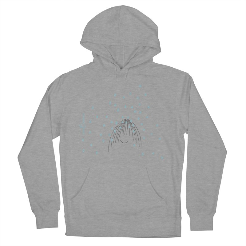 Rainy smile Men's French Terry Pullover Hoody by Good Morning Smile