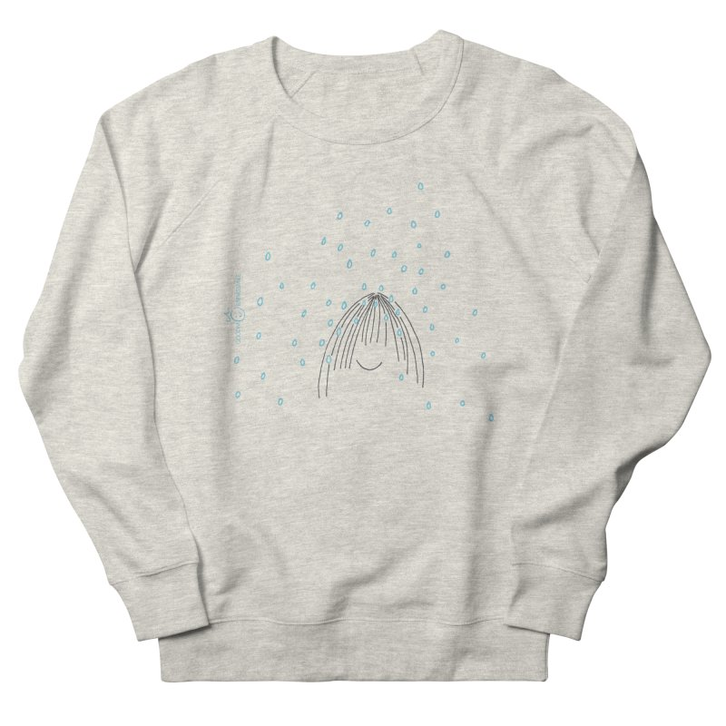 Rainy smile Women's French Terry Sweatshirt by Good Morning Smile
