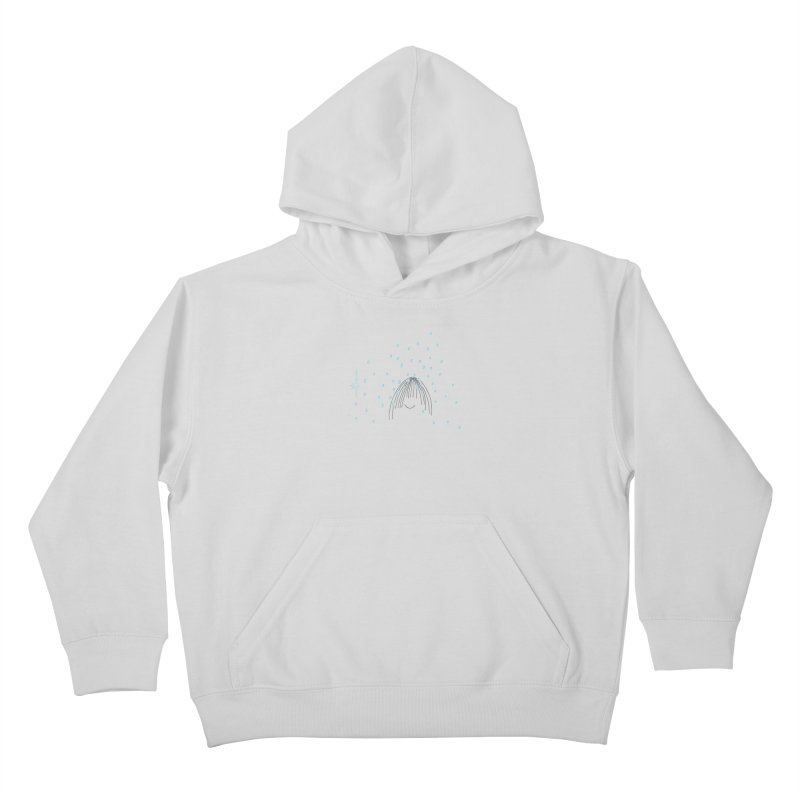 Rainy smile Kids Pullover Hoody by Good Morning Smile