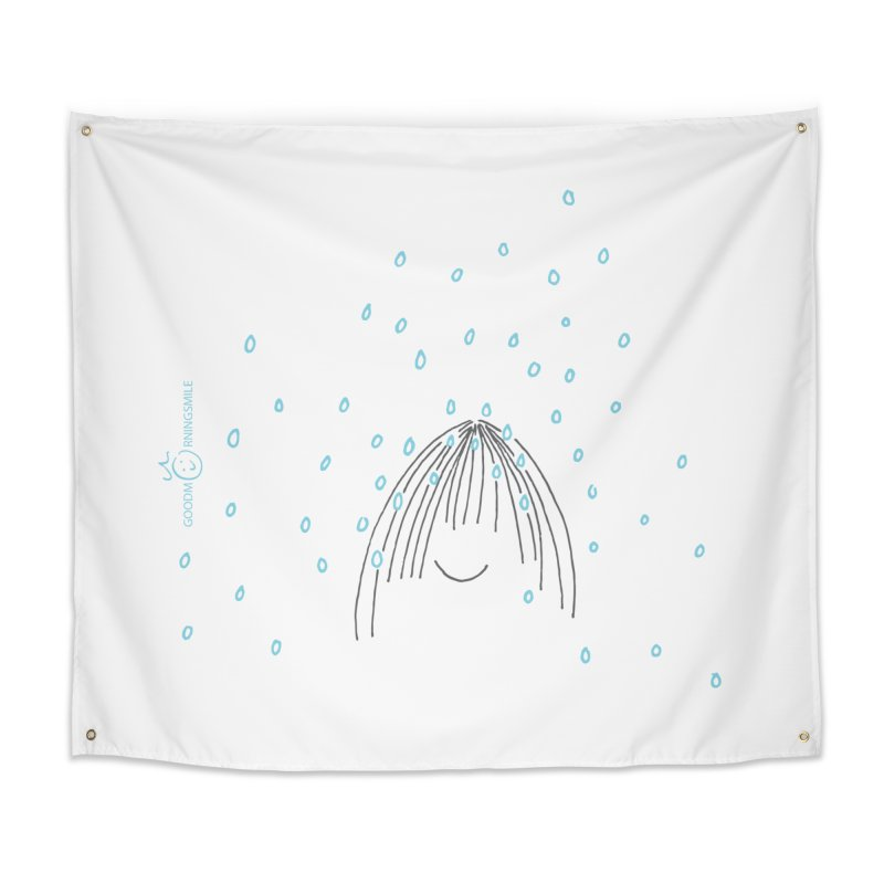 Rainy smile Home Tapestry by Good Morning Smile