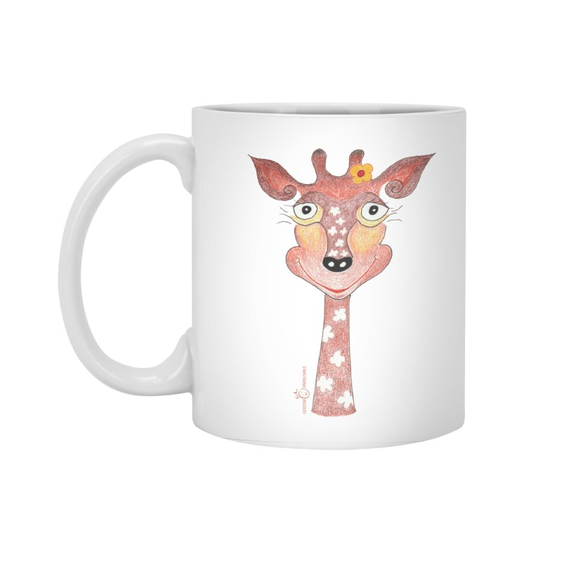 Giraffe Smile Accessories Standard Mug by Good Morning Smile