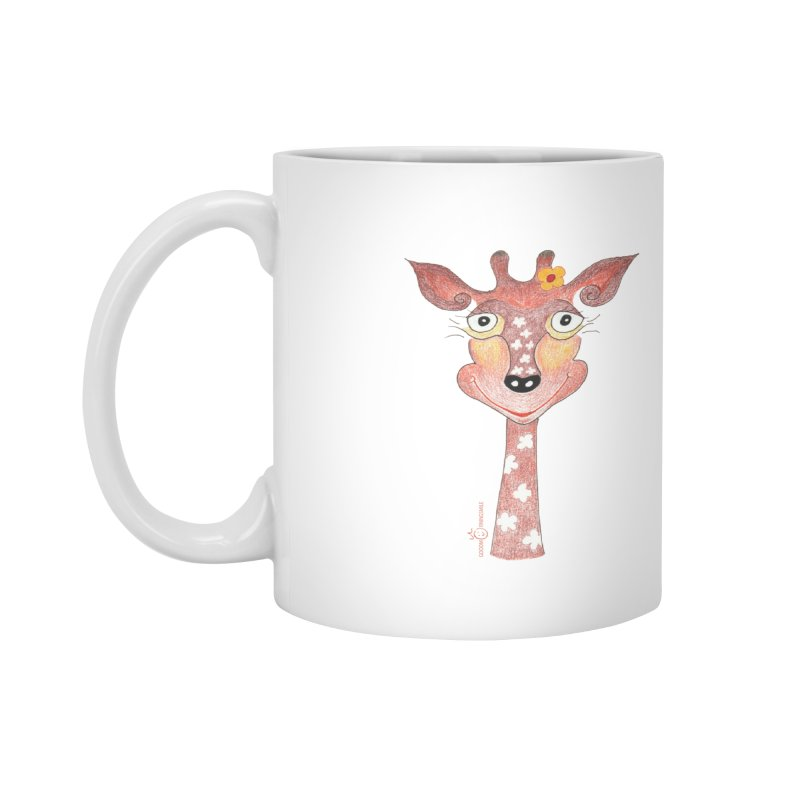 Giraffe Smile Accessories Mug by Good Morning Smile