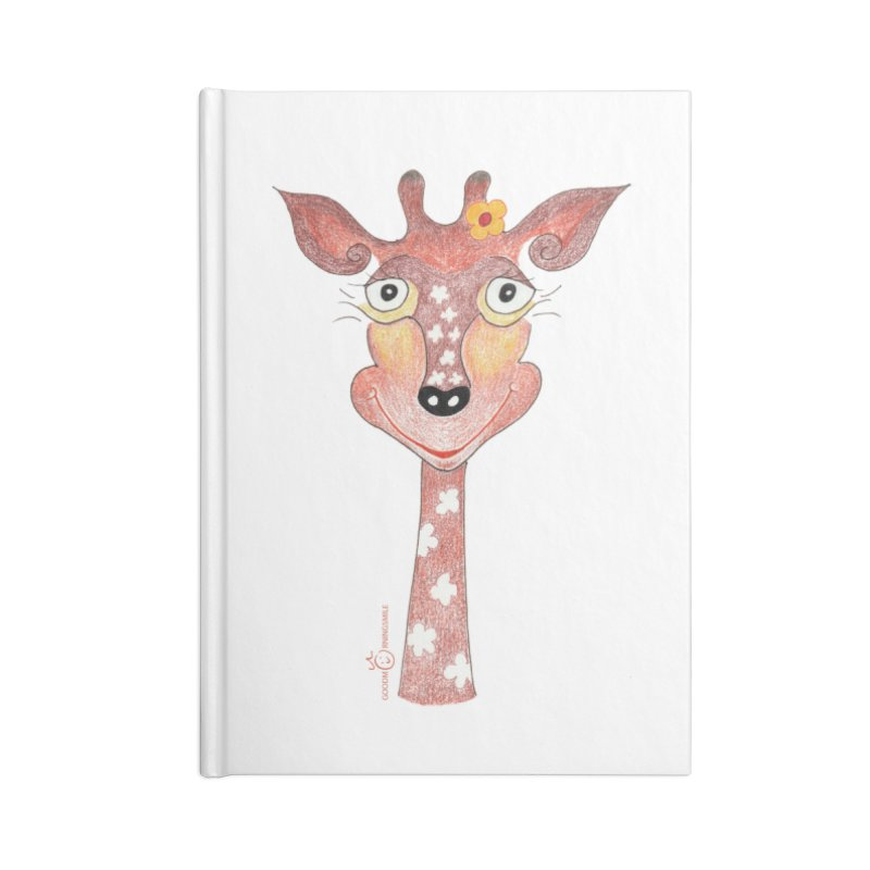 Giraffe Smile Accessories Blank Journal Notebook by Good Morning Smile