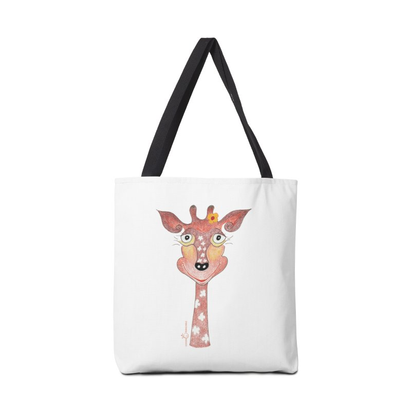 Giraffe Smile Accessories Bag by Good Morning Smile