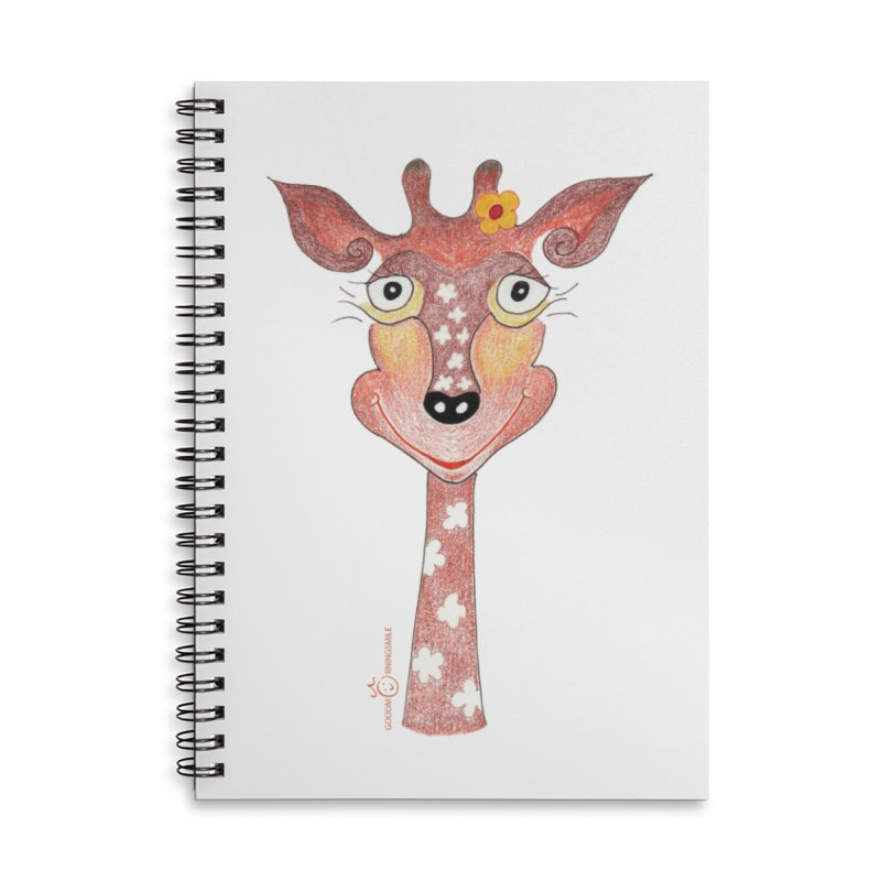 Giraffe Smile Accessories Notebook by Good Morning Smile