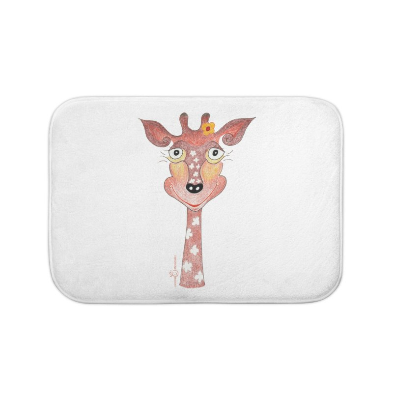 Giraffe Smile Home Bath Mat by Good Morning Smile
