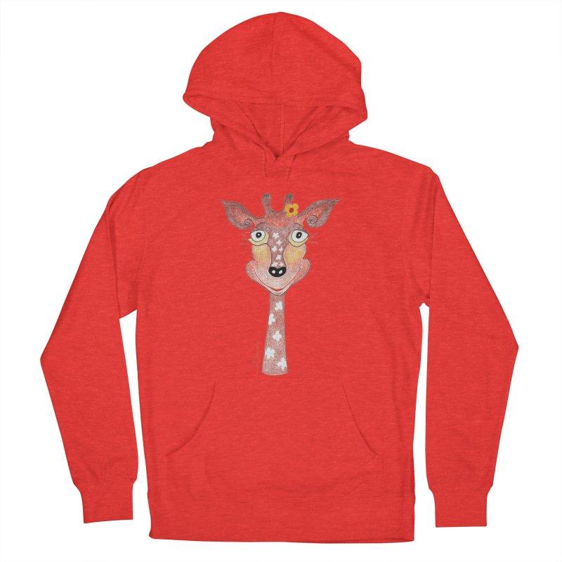 Giraffe Smile Men's Pullover Hoody by Good Morning Smile