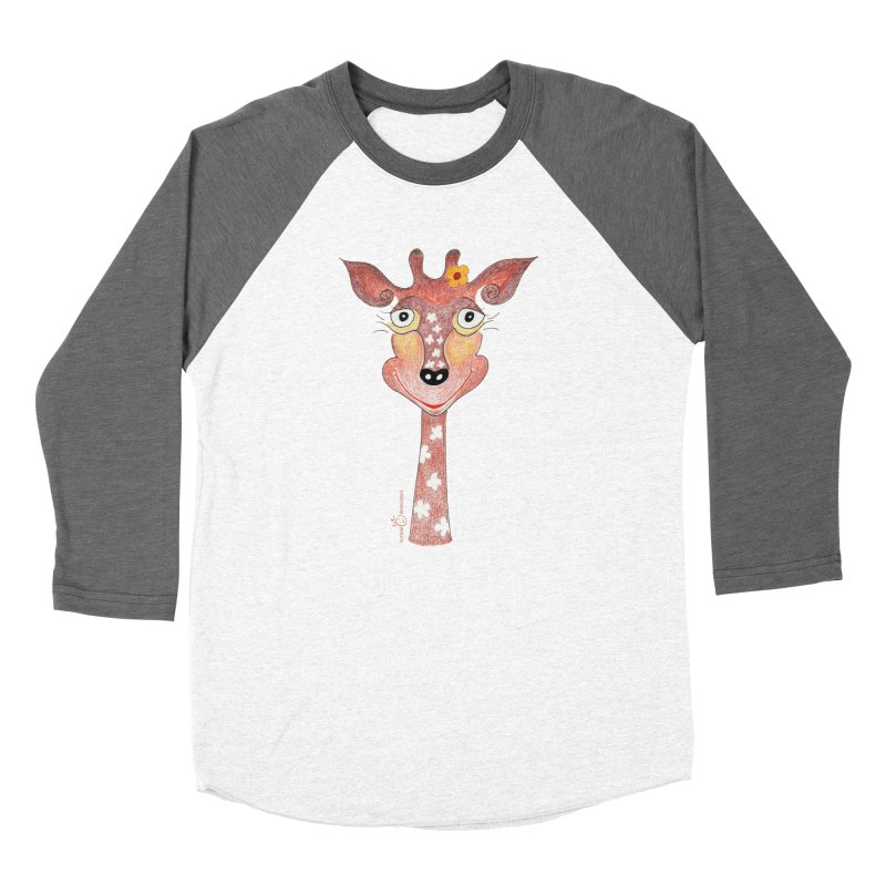 Giraffe Smile Women's Longsleeve T-Shirt by Good Morning Smile
