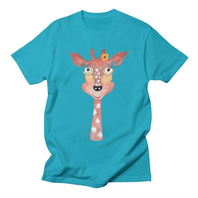 Giraffe Smile Women's Regular Unisex T-Shirt by Good Morning Smile