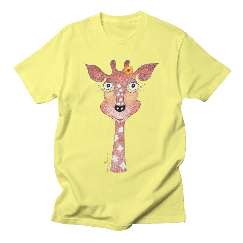 Giraffe Smile Men's Regular T-Shirt by Good Morning Smile