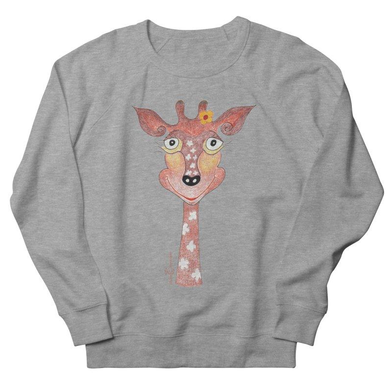 Giraffe Smile Women's French Terry Sweatshirt by Good Morning Smile