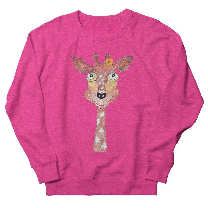 Giraffe Smile Women's Sweatshirt by Good Morning Smile