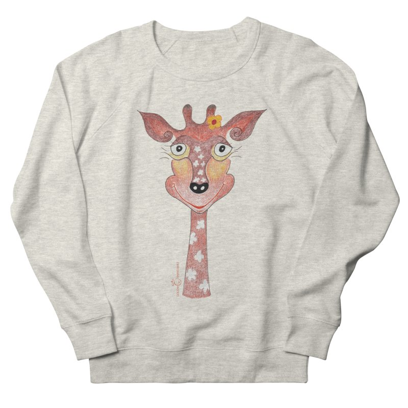 Giraffe Smile Women's French Terry Sweatshirt by Good Morning Smile