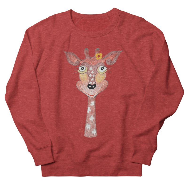 Giraffe Smile Men's French Terry Sweatshirt by Good Morning Smile