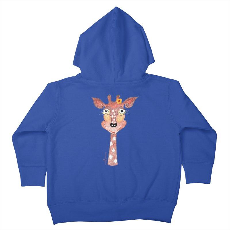 Giraffe Smile Kids Toddler Zip-Up Hoody by Good Morning Smile