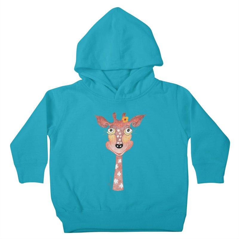 Giraffe Smile Kids Toddler Pullover Hoody by Good Morning Smile