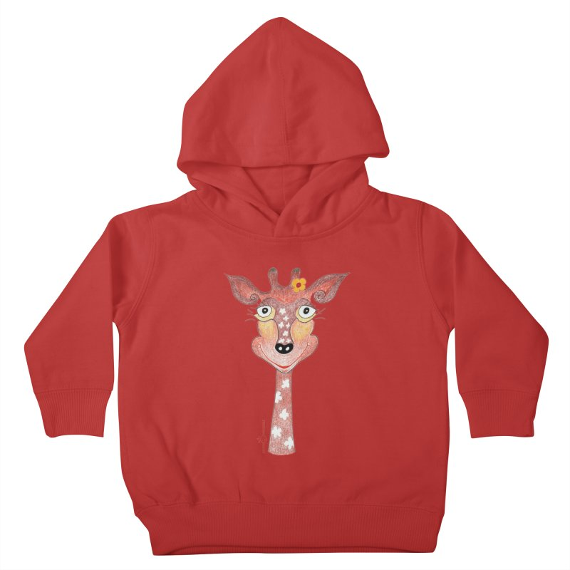Giraffe Smile Kids Toddler Pullover Hoody by Good Morning Smile