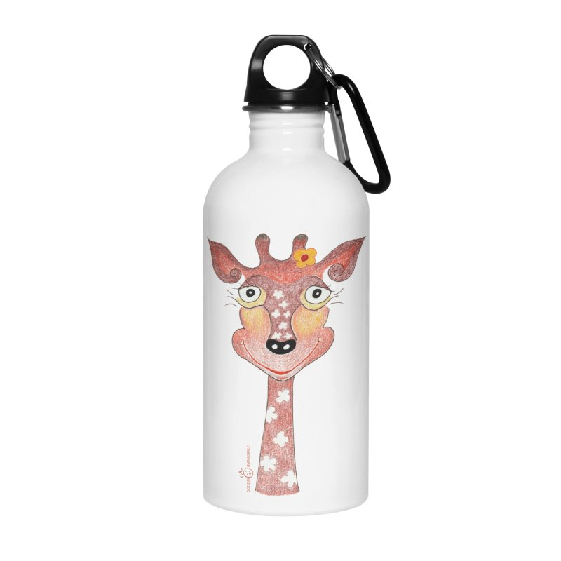 Giraffe Smile Accessories Water Bottle by Good Morning Smile
