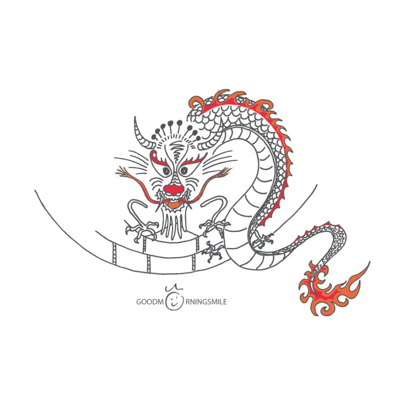 Dragon Smile Accessories Sticker by Good Morning Smile