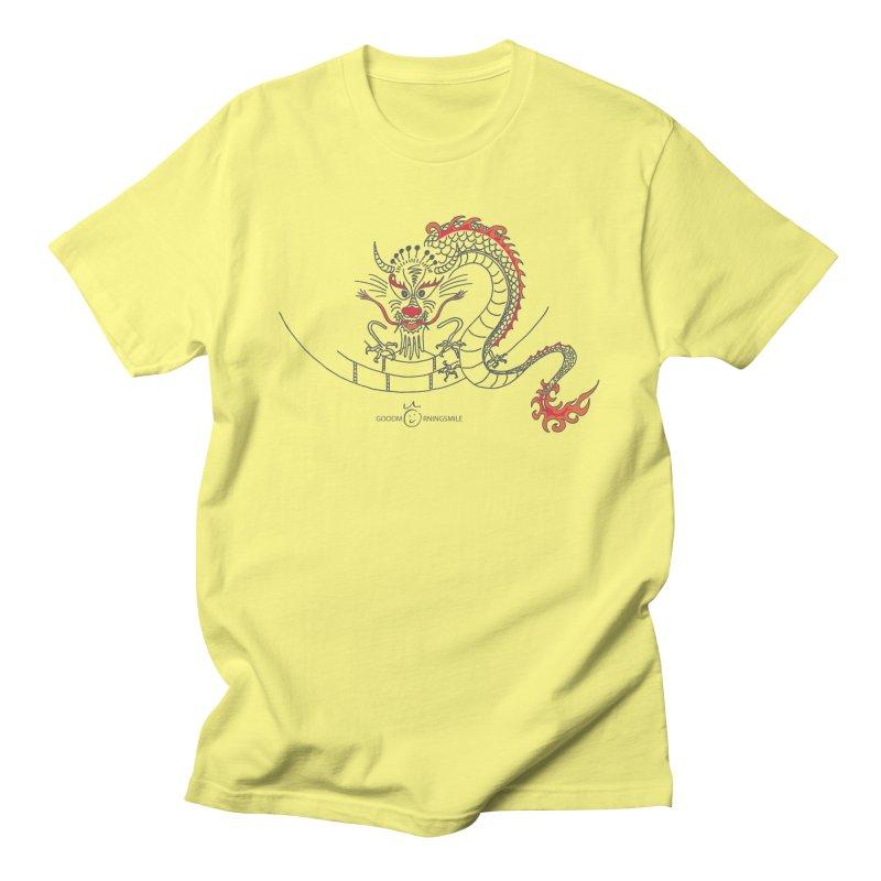 Dragon Smile Men's T-Shirt by Good Morning Smile