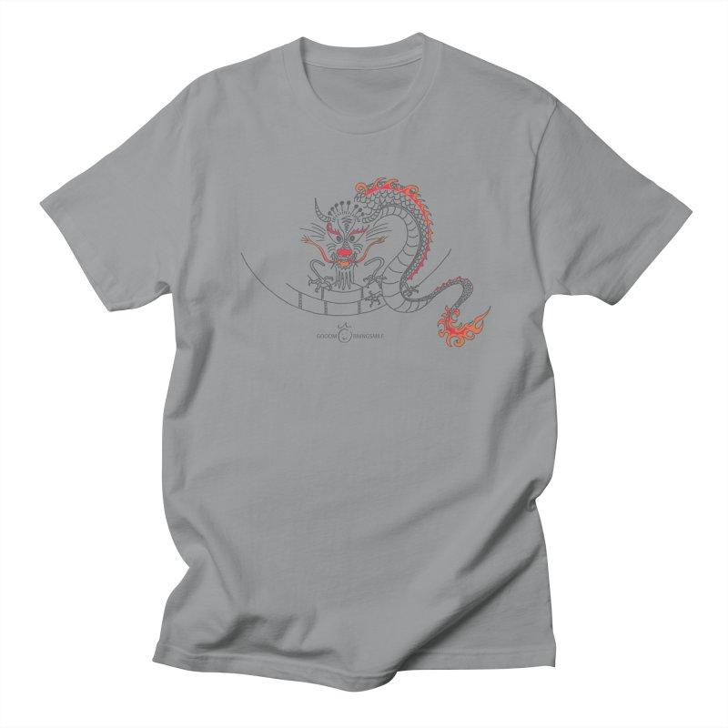 Dragon Smile Women's Regular Unisex T-Shirt by Good Morning Smile