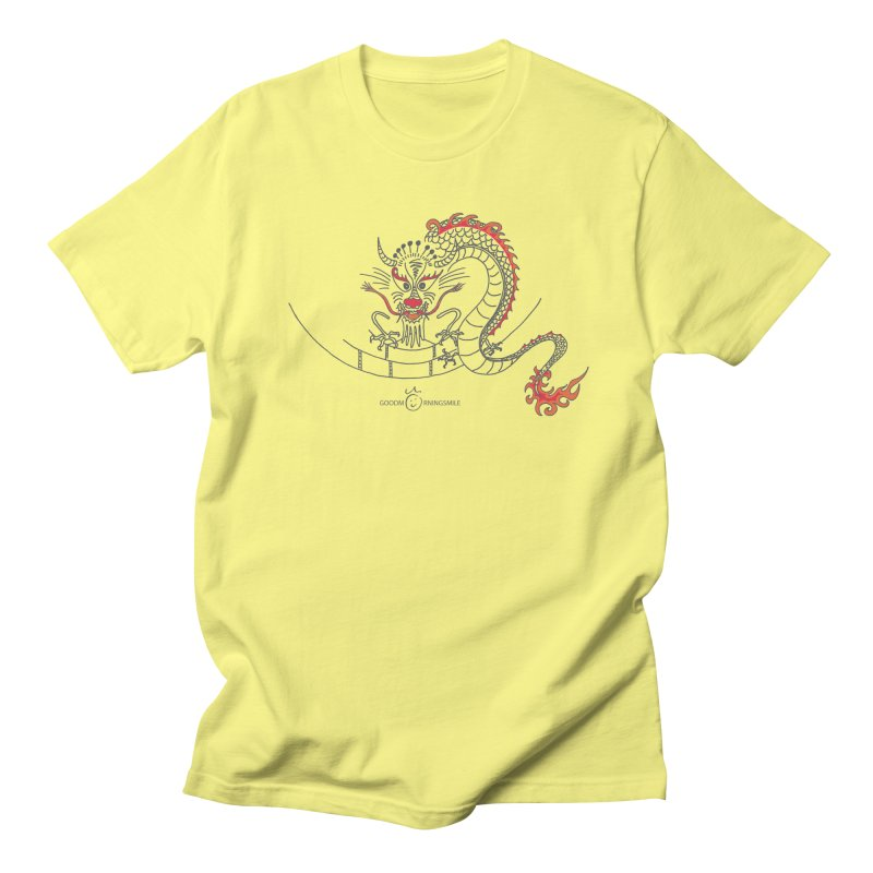 Dragon Smile Men's T-Shirt by Good Morning Smile