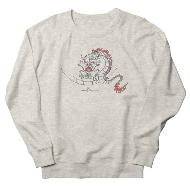 Dragon Smile Men's Sweatshirt by Good Morning Smile