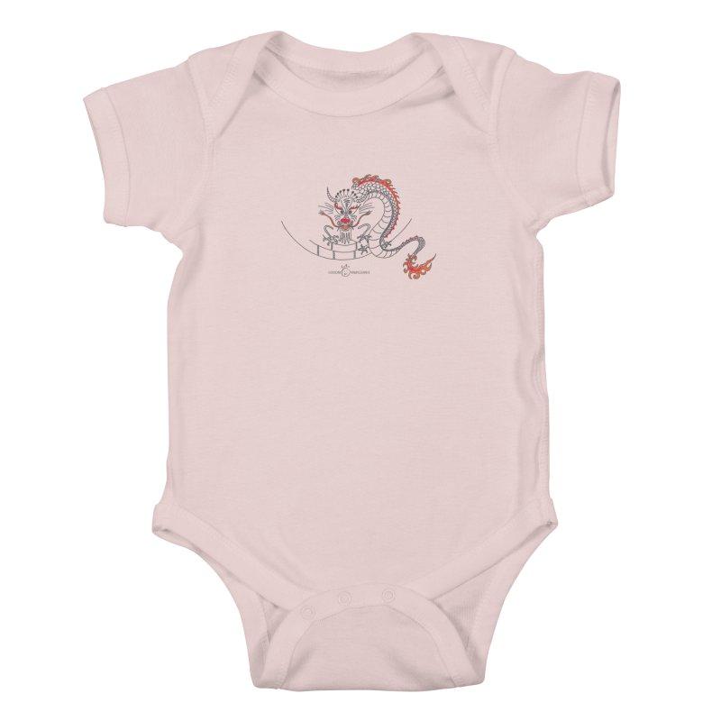 Dragon Smile Kids Baby Bodysuit by Good Morning Smile