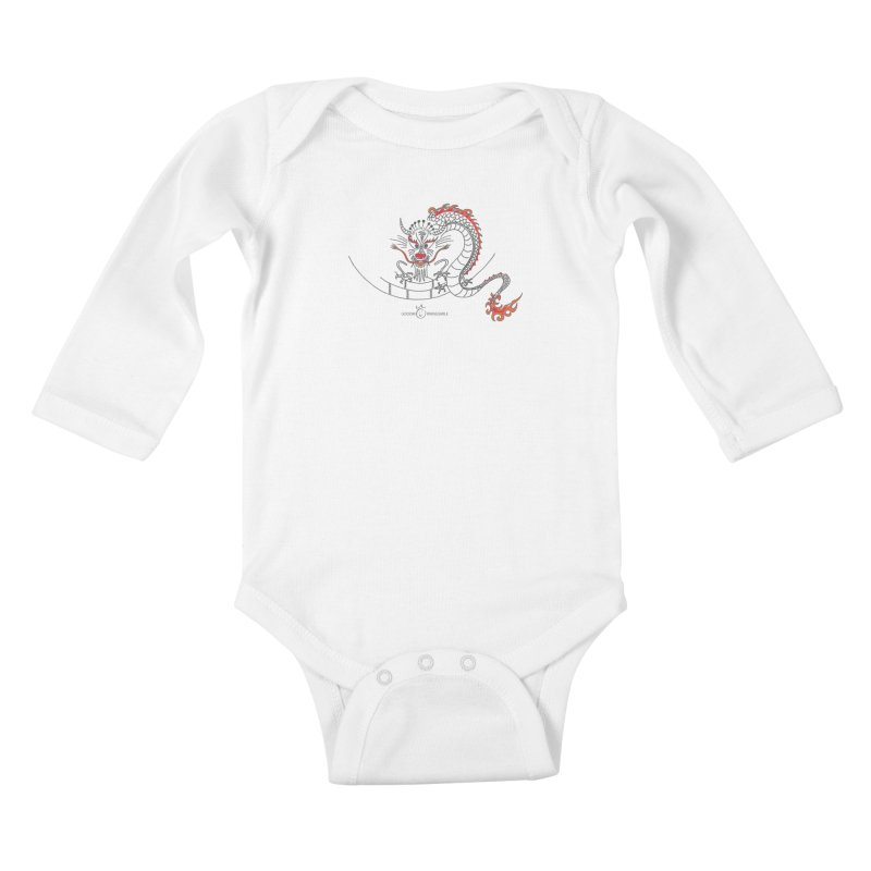 Dragon Smile Kids Baby Longsleeve Bodysuit by Good Morning Smile