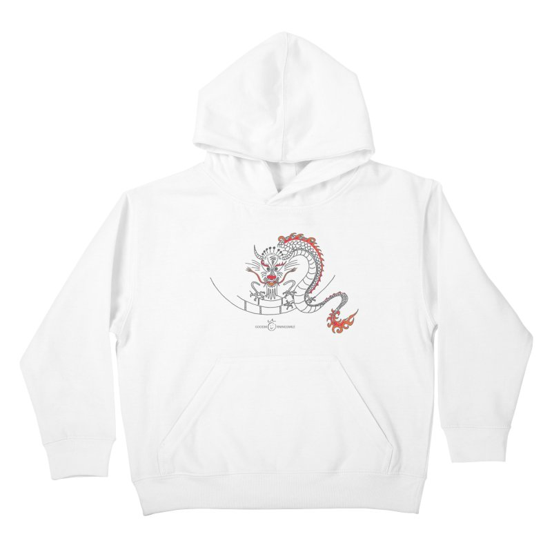 Dragon Smile Kids Pullover Hoody by Good Morning Smile