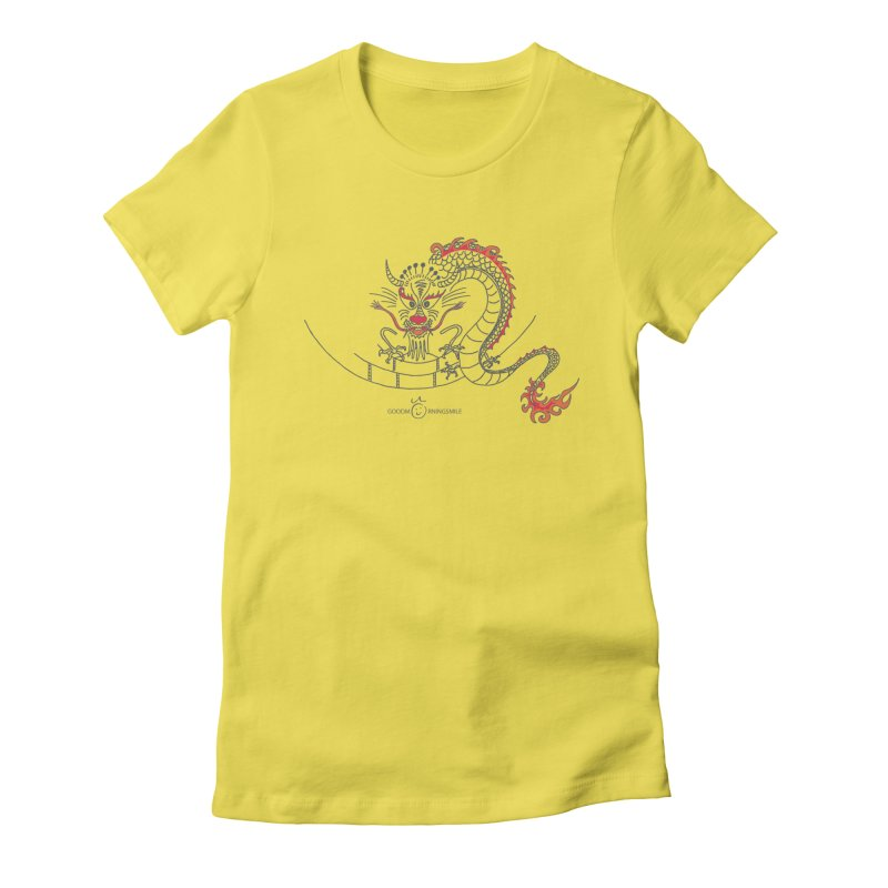 Dragon Smile Women's T-Shirt by Good Morning Smile