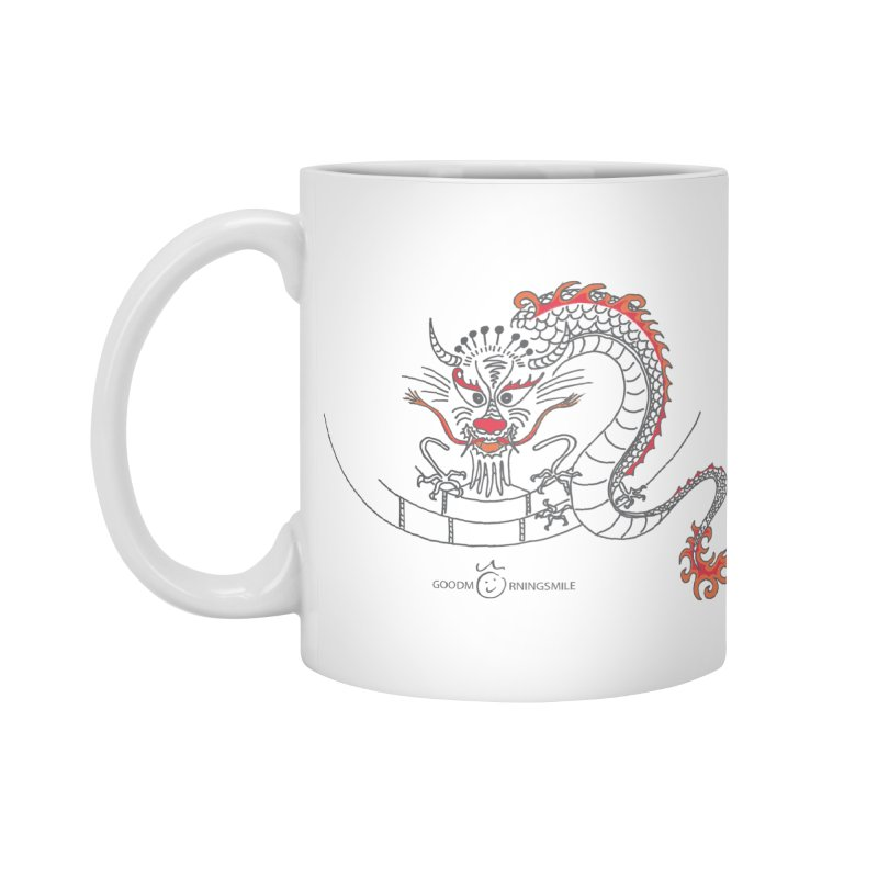 Dragon Smile Accessories Standard Mug by Good Morning Smile