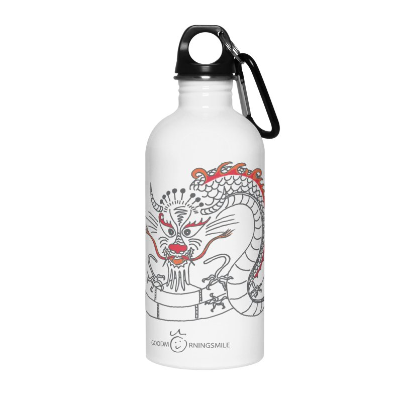 Dragon Smile Accessories Water Bottle by Good Morning Smile