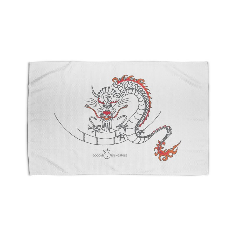 Dragon Smile Home Rug by Good Morning Smile