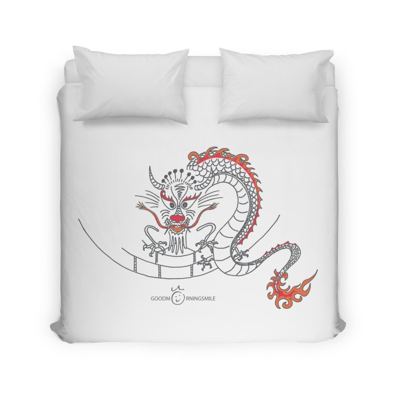 Dragon Smile Home Duvet by Good Morning Smile