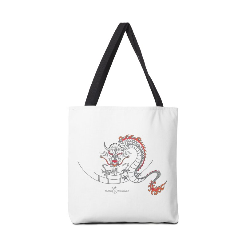 Dragon Smile Accessories Bag by Good Morning Smile