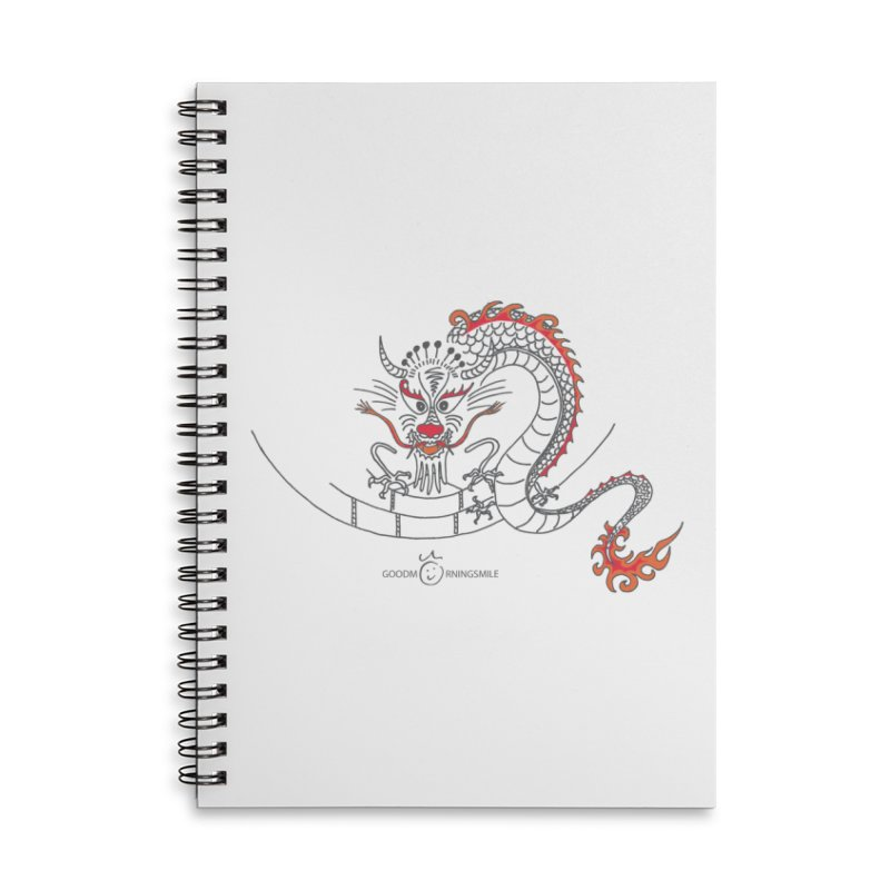 Dragon Smile Accessories Notebook by Good Morning Smile