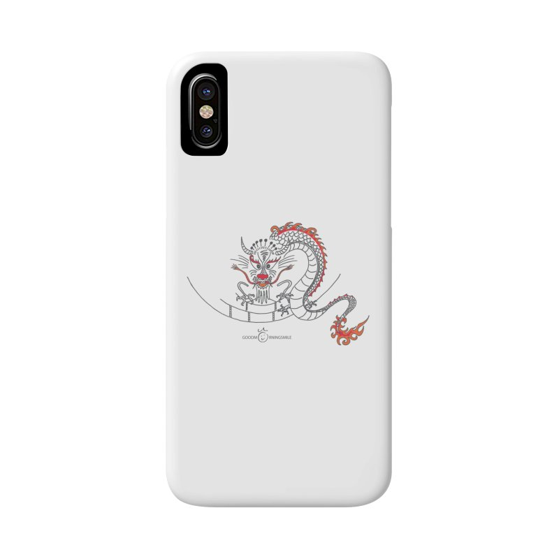 Dragon Smile Accessories Phone Case by Good Morning Smile