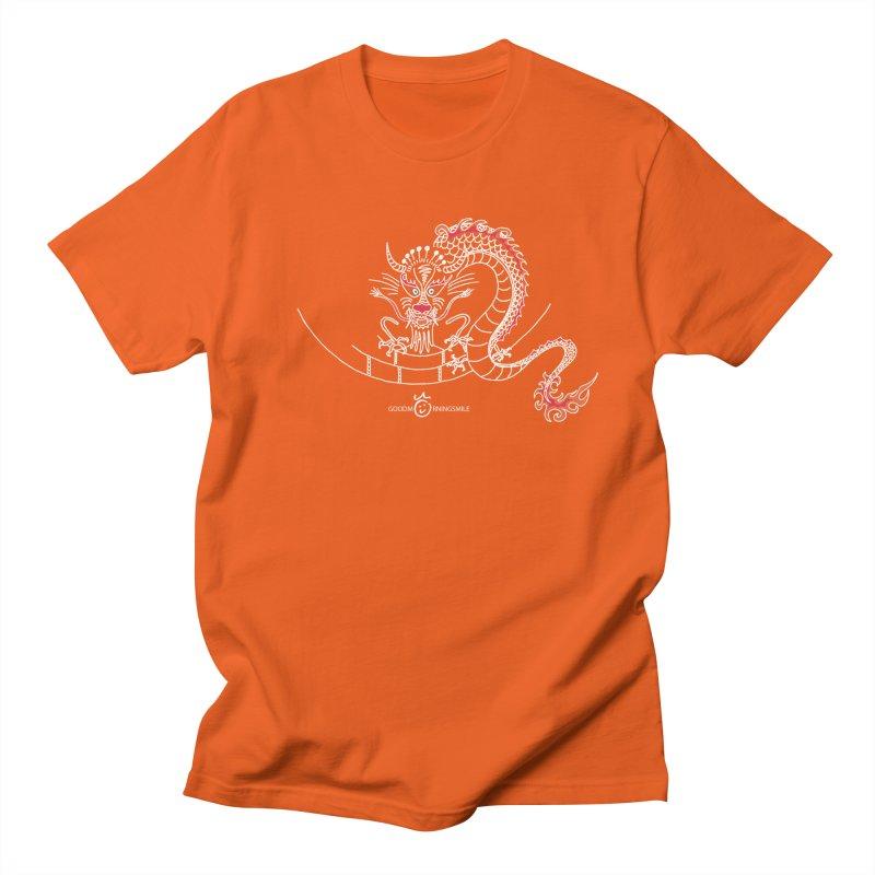 Dragon Smile (white) Women's T-Shirt by Good Morning Smile
