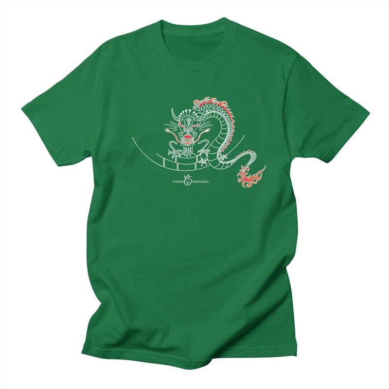 Dragon Smile (white) Women's T-Shirt by Good Morning Smile