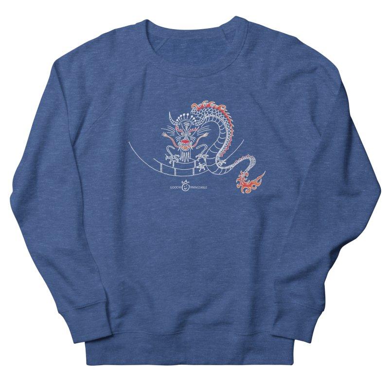 Dragon Smile (white) Women's Sweatshirt by Good Morning Smile