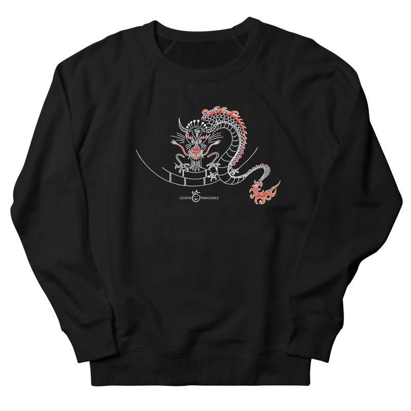 Dragon Smile (white) Women's French Terry Sweatshirt by Good Morning Smile