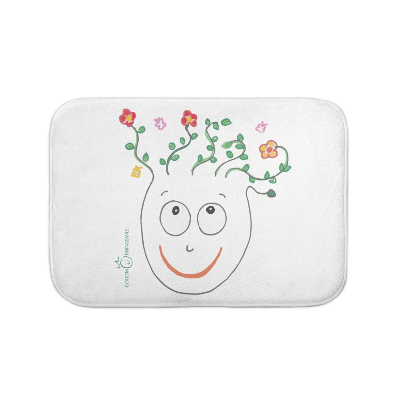 ThinkingGreen Smile Home Bath Mat by Good Morning Smile