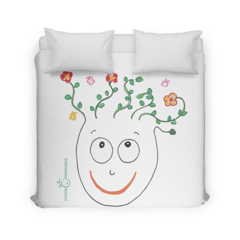 ThinkingGreen Smile Home Duvet by Good Morning Smile