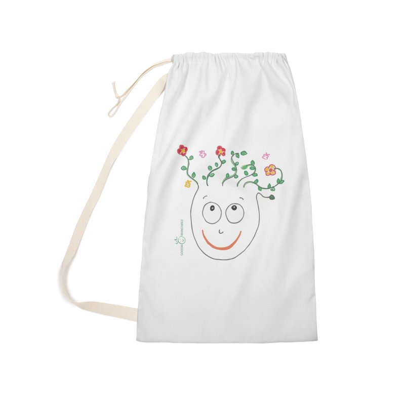 ThinkingGreen Smile Accessories Laundry Bag Bag by Good Morning Smile