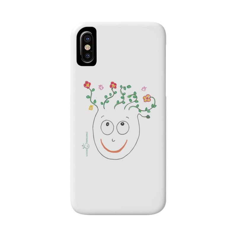 ThinkingGreen Smile Accessories Phone Case by Good Morning Smile